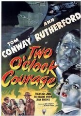 Two O'Clock Courage 1945 DVD - Tom Conway / Ann Rutherford